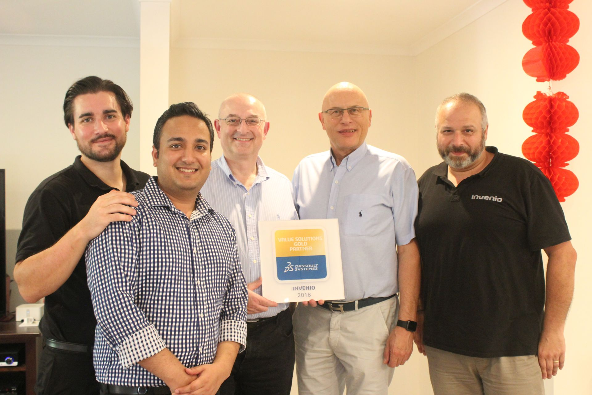 Invenio Awarded Dassault Systèmes Gold Partner Status