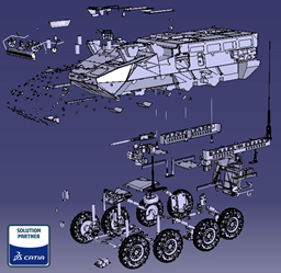 Land Forces CAD Model