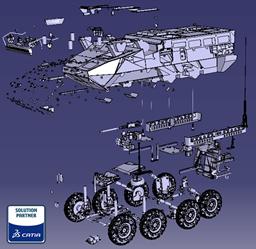 Land Forces CAD Model