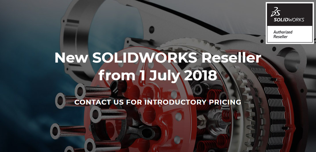 Invenio is now a Solidworks Value Added Reseller